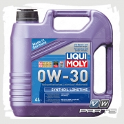 масло моторное liqui moly synthoil longtime (502.00/505.00) 0w-30 (4 л.)
